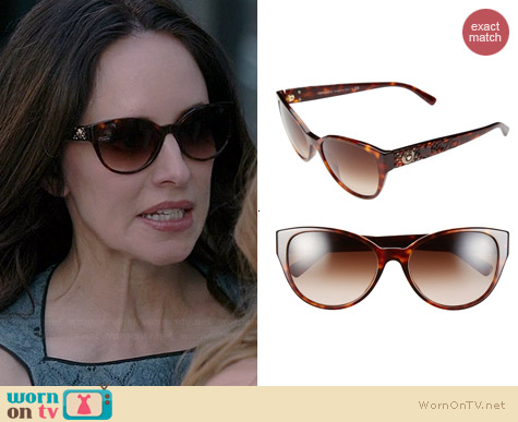 Versace Rock Icons - Vanitas Sunglasses worn by Madeleine Stowe on Revenge