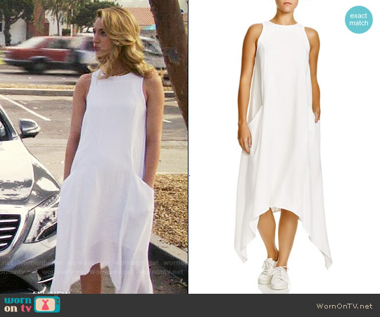 Viktoria + Woods Pegasus Handkerchief Hem Dress worn by Yael Grobglas on Jane the Virgin