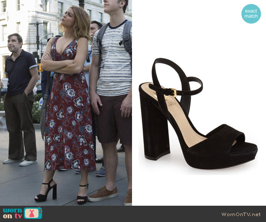 Vince Camuto 'Krysta' Platform Sandal worn by Haley Dunphy on Modern Family