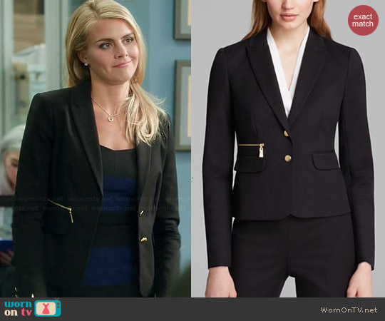 Vince Camuto Two Button Blazer worn by Eliza Coupe on Benched