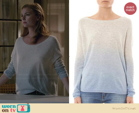 Vince Cashmere Dip Dye Sweater worn by Emily VanCamp on Revenge