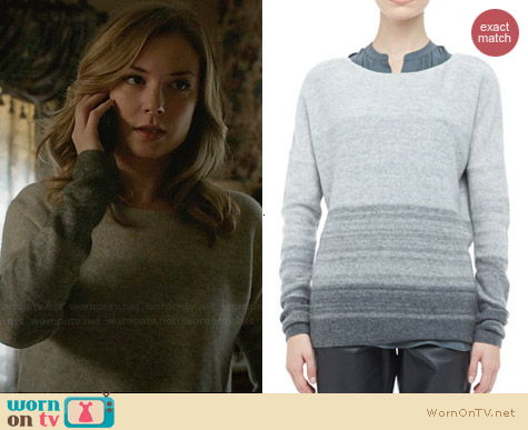 Vince Degrade Sweater worn by Emily Vancamp on Revenge