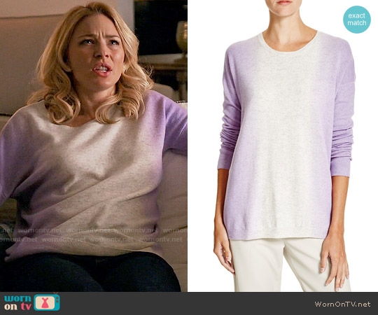 Vince Ombre Sweater worn by Tabrett Bethell on Mistresses