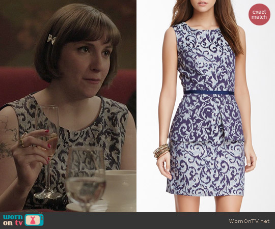 Walter Baker Hayden Dress worn by Lena Dunham on Girls
