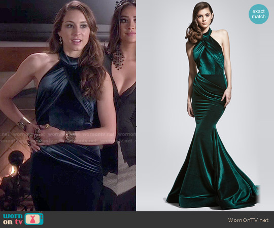 Walter Mendez Nora Gown worn by Troian Bellisario on PLL