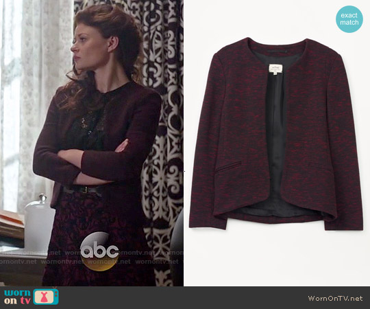Wilfred Festin Jacket worn by Emilie de Ravin on OUAT