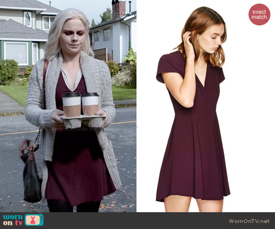 Wilfred Foucalt Dress worn by Rose McIver on iZombie