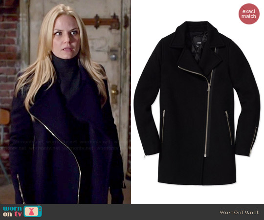 Wilfred Free Fei Coat worn by Jennifer Morrison on OUAT