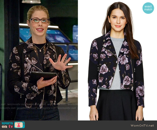 Wilfred Montesson Jacket worn by Emily Bett Rickards on Arrow