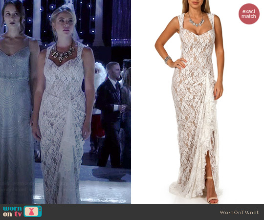Windsor Promo Pandora Prom Dress worn by Ashley Benson on PLL