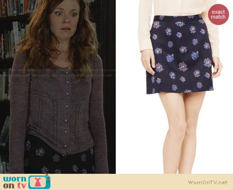 Witches of East End Fashion: Club Monaco Camissa Skirt worn by Rachel Boston
