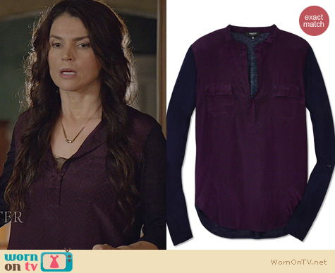 Witches of East End Fashion: Babaton Julien T Shirt worn by Julia Ormond