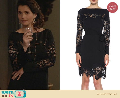 Witches of East End Fashion: Diane von Furstenberg Ernestina Dress worn by Julia Ormond
