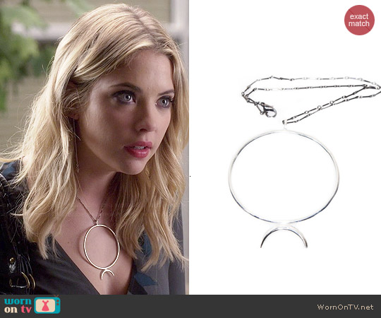 Wolf & Sadie Night of the Wolf Necklace worn by Hanna Marin on PLL
