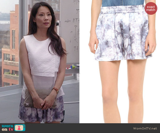 Won Hundred Bonny Shorts worn by Lucy Liu on Elementary
