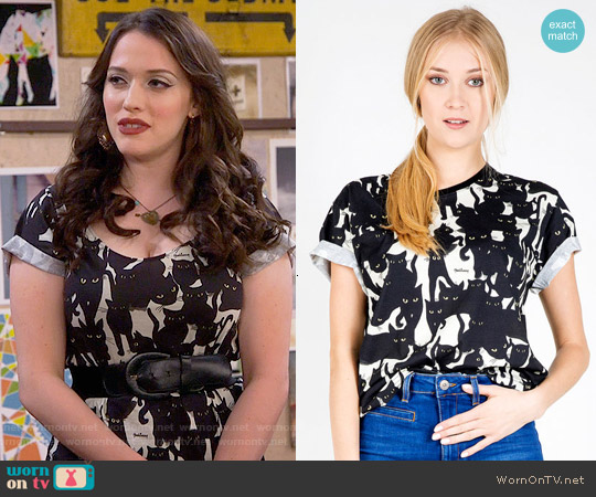 worn by Max Black (Kat Dennings) on 2 Broke Girls
