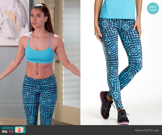 Z by Zella Slim Halo Leggings worn by Carmen Luna on Devious Maids
