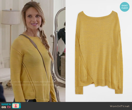 Zadig & Voltaire Roni Sweater worn by Beau Garrett on GG2D