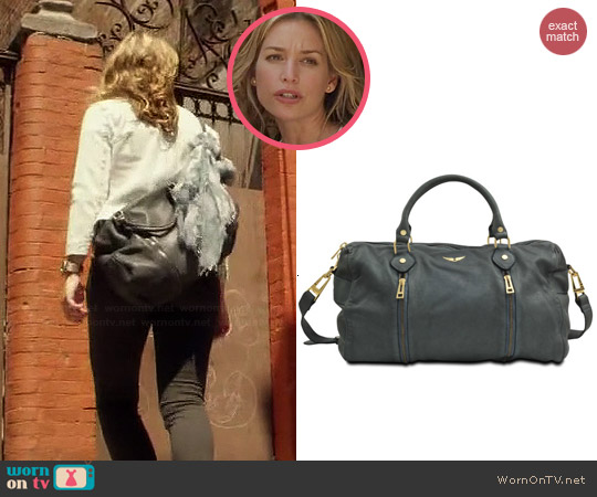 Zadig & Voltaire Sunny Bag worn by Piper Perabo on Covert Affairs
