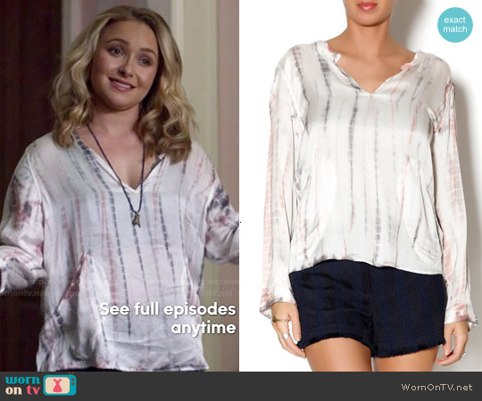 Zadig & Voltaire Timide T&D Tunic worn by Hayden Panettiere on Nashville