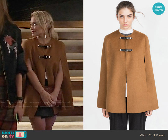 Zara Hand Made Cape worn by Hilary Duff on Younger