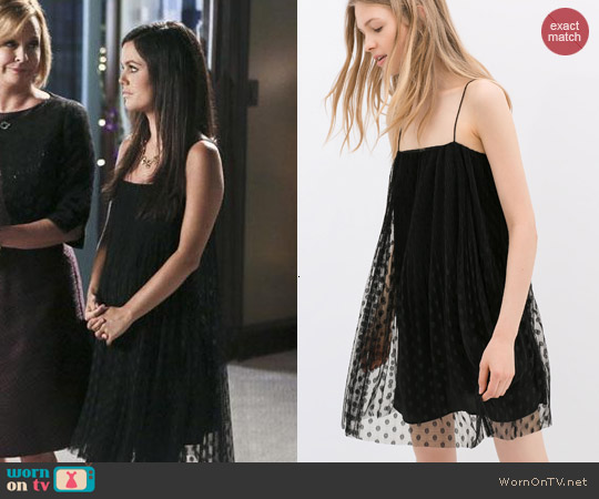 Zara Sheer Overlay Dress worn by Rachel Bilson on Hart of Dixie