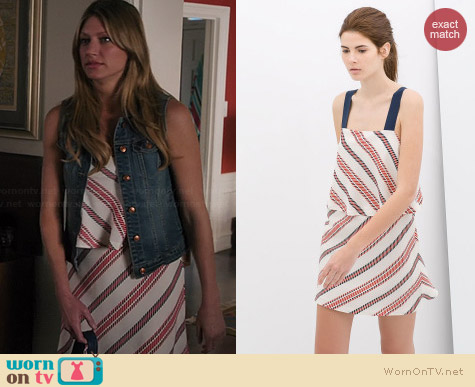 Zara Striped Dress worn by Jess Macallan on Mistresses