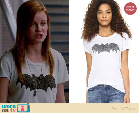 Zoe Karssen Bat Tee worn by Mackenzie Lintz on Under the Dome