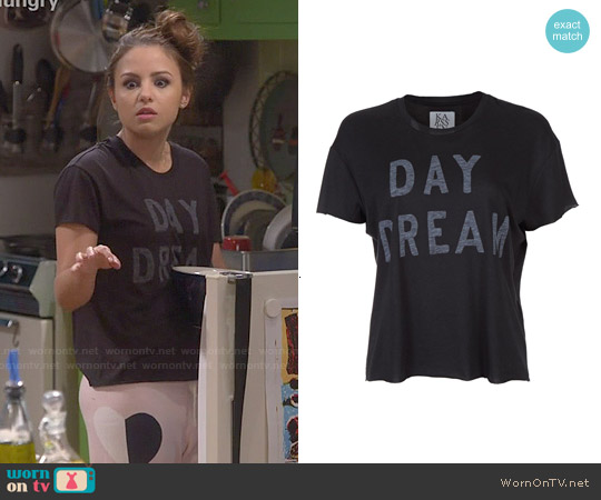 Zoe Karssen Day Dream Tee worn by Aimee Carrero on Young & Hungry