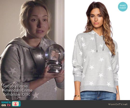 Zoe Karssen Stars All Over Hoodie worn by Hayden Panettiere on Nashville